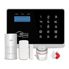 Wireless GSM + Wi-Fi Sistema di allarme intelligente di sicurezza con Wi-Fi Videocamera