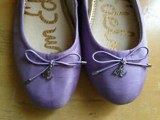 NEW! Sam Edelman FELICIA Shantung Lilac Purple Pretty Ballet Flats 7.5 M $120