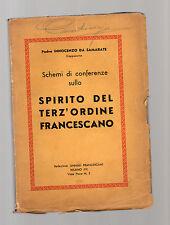 schemi di conferenze s del terz'ordine francescano - padre innocenzo da samarate