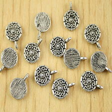 40pcs Tibetan silver flower spacer beads h2710