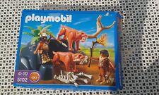 PLAYMOBIL 5102 - Tigres à dents de sabre et hommes des cavernes