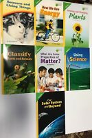 Lot of 7 Pearson Science Leveled Readers On Level Grade 3
