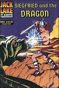 Jack Lake Classics #802 - Siegfried and the Dragon, Canadian CI publisher, NEW