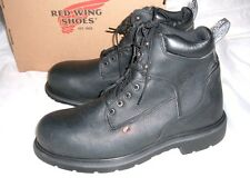 Red Wing 2213 Safety Boots Steel toe Shoes Made in USA New Size 12 D