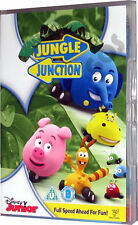 Jungle Junction Walt Disney Junior Childrens Kids DVD New Sealed