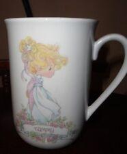 Precious Moments Enesco 1990 Tammy Coffee Tea Mug