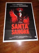 manifesto,1989,Santa Sangre Alejandro Jodorowsky, Argento,Guerra surrealista