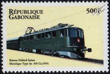 SWISS RAILWAYS (SBB Switzerland) 1954 Class Ae 6/6 Electric Train Stamp