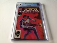 PUNISHER LIMITED SERIES 5 CGC 9.4 WHITE PAGES JIGSAW ZECK GRANT MARVEL COMICS