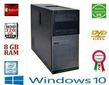 COMPUTER DELL 790 INTEL CORE i 5 2400S QUAD CORE  WI-FI 8 GB RAM DDR3 WINDOWS 10