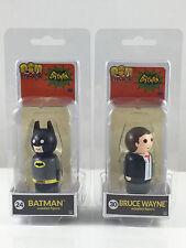 Pin Mates Batman Bruce Wayne 1966 TV Series Classic DC Comics Wooden Figures NEW