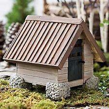 Closeout! Dollhouse Miniature Fairy Garden Woodland Cottage Cabin