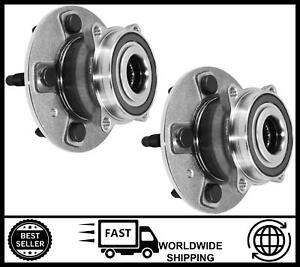 Front Rear Wheel Bearing Hub Pair For Tesla Model S And X (5YJS,5YJX) 102717000A