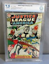 JUSTICE LEAGUE OF AMERICA #15 (OW to White) CBCS 7.5 VF- DC Comics 1962 cgc JLA