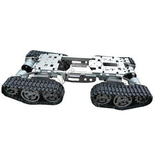 CNC Metal Robot ATV Track Tank Chassis Suspension Obstacle Crossing Crawler Set