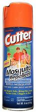 CUTTER 6oz Can MOSQUITO REPELLENT Insect UNSCENTED Ticks+Fleas+More DEET 10% 1b
