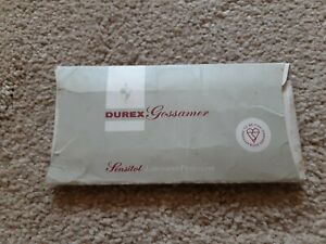 Vintage Collectable 1970s Durex Gossamer Condoms
