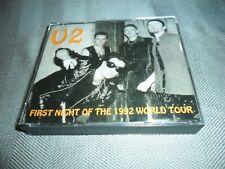 U2 ~ FIRST NIGHT OF THE 1992 WORLD TOUR 2 CD SET PUMPKIN BROS. VERY RARE