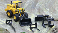 VOLVO L70 LOADER *MULTIPLE ATTACHMENTS VERSION* - JOAL 400 - 1:50  - NEW IN BOX