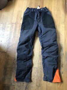 Bin Stihl Class 1 Chainsaw Trousers 30 W 30 L