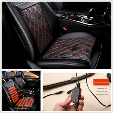 12V Car Seat Heated Cushion Carbon Fiber Heater Warm Heating Car Seat Pad Winter