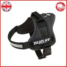 Julius-K9 162P0 K9 PowerHarness for Dogs, Size 0, Black