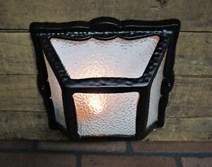 Vintage Antique Porch Ceiling Light Fixture Restored Bungalow Cottage Light