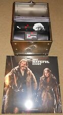 """Quentin Tarantino's The Hateful Eight 8x7"""" Colored 45rpm Limited Ed. Box 2Lp"""