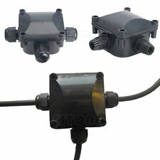 IP68 Waterproof Junction Box 3 Cable Wire Protection Building DTY Connectors