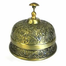 Brass Hotel Desk Bell - Reception Bell - Bar Bell