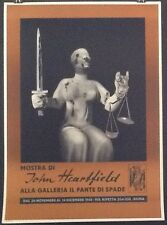 MUST SELL PAY RENT! HEARTFIELD Galleria il Fante di Spade 1965 Exhibition Poster