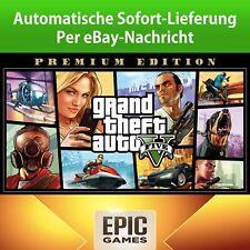 ? GTA Five (V) 5 Premium Edition Epic Games PC NO Key Code ?? Sofort Download