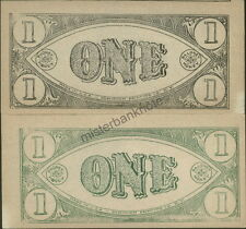 "PA10 DOMINION PRINTING ""ONE"" PHONEY BALONEY MONEY HOLLYWOOD MOVIE PROP BANKNOTE!"