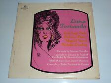 LUISA FERNANDA ZARZUELA COMPLETA EN TRES ACTOS FM 67 MONTILLA RECORDS