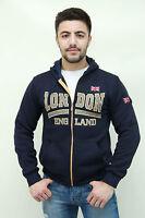 Union Jack Hoodie, MEN BOYS, Sweatshirt, Sweater, London Souvenirs, FLAG, GOLD