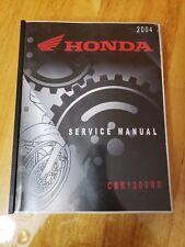 2004 Honda Service Manual CBR1000RR