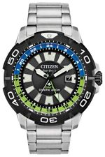 New Citizen Eco-Drive 's Promaster Dive Stainless Steel Bracelet Watch BJ7128-59