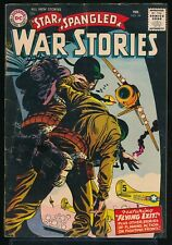 STAR SPANGLED WAR STORIES No. 54 1957 DC Comic Book FLYING EXIT 4.5 VG+