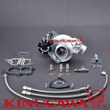 Kinugawa Turbocharger TD04L-19T-6 T25 250HP Genuine Mitsubishi Core w/ Kit & BOV