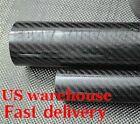 Tube /tubing US 3K Roll Wrapped Carbon Fiber 22mm X 18mm X 19mm 20mm X 1000mm