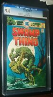 SWAMP THING #20 1975 DC Comics CGC 9.6 NM+ White Pages