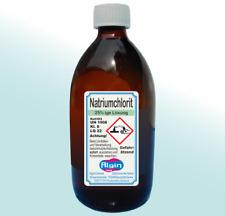 Natriumchlorit 25% 500 ml Braunglas-Flasche