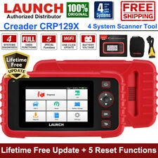 Launch X431 CRP129X OBD2 Scanner Code Reader Auto Engine ABS SRS Diagnostic Tool