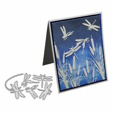 Dragonfly Metal Cutting Dies Stencil DIY Scrapbooking Embossing Paper Card Craft