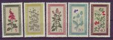 Postfrische Briefmarken der DDR (1949-1990) als Satz mit Pflanzen-Motiv