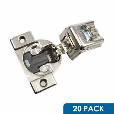20 Pack BLUM BLUMOTION 38C CABINET HINGE 1-1/4 INCH OVERLA SOFT CLOSE 38C355B.20