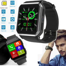 Bluetooth Smart Watch GPS Wristwatch for Android Samsung Huawei LG Men Womens