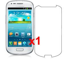 1x Samsung Galaxy S3 Mini Screen Protector I8190 w/ cloth