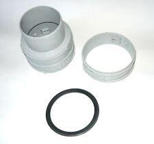 A2050300 set de raccordement D 80 mm pour flexible Saunier Duval