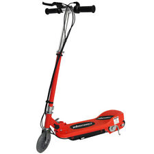 Kids Electric Scooter Red Escooter 24v Ride On Battery Childrens Toy Fast Bike